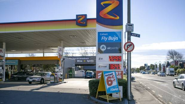 Pain At The Pump As Christchurch Petrol Prices Hit Record