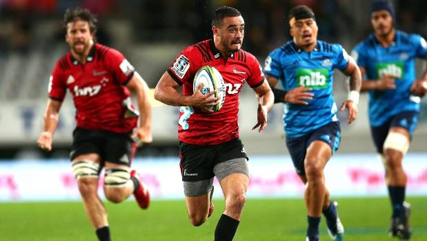 Crusaders continue dominance over Blues with win in Auckland