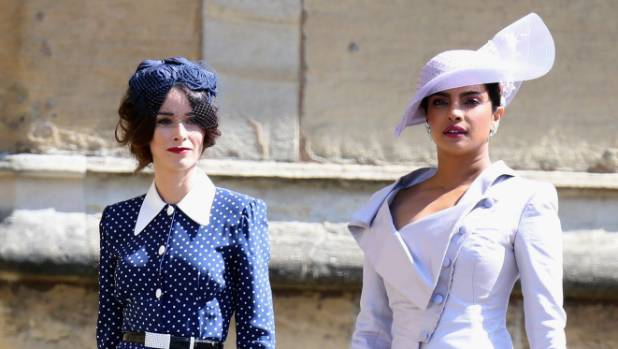 Abigail Spencer (L) and Priyanka Chopra turned heads.