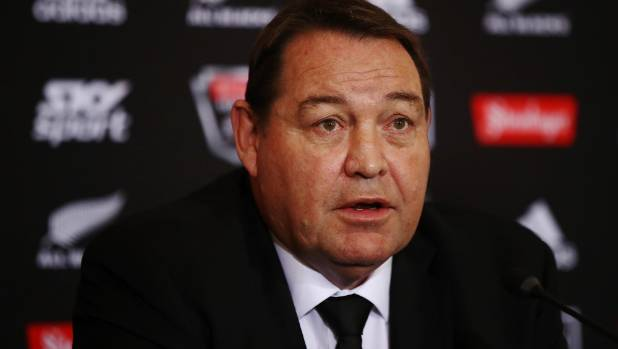All Blacks head coach Steve Hansen says he's got concerns about the team's whole discipline.