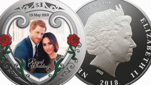 NZ Post releases royal wedding commemorative coins and stamps