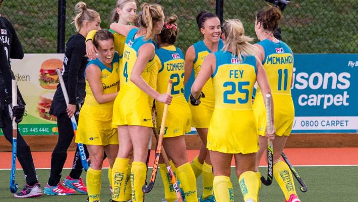 Black Sticks women hammered 4-1 by Australia in gold medal ...