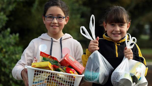 Sisters inspire a foodbank frenzy