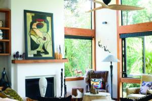 Trace Beaumont's more is more Taupo home.
