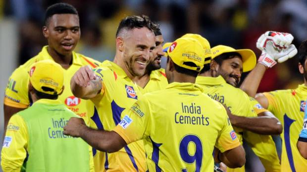 Chennai Super Kings rally around Faf du Plessis after the South Africa test captain batted them into the IPL final