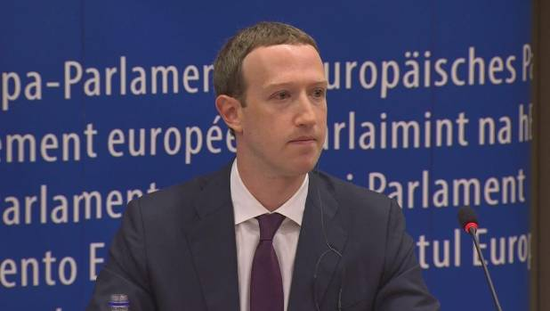 Mark Zuckerberg And Nigel Farage Debate Facebook Censorship In European Parliament Forum