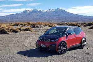 In the middle of nowhere in an EV? Well, the middle of the North Island, at least.