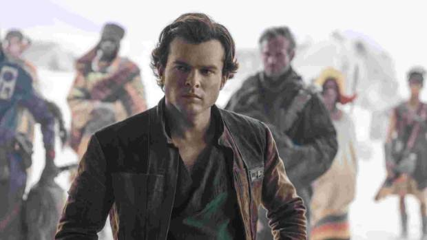 'Solo: A Star Wars Story' takes a while to jump to hyperspace