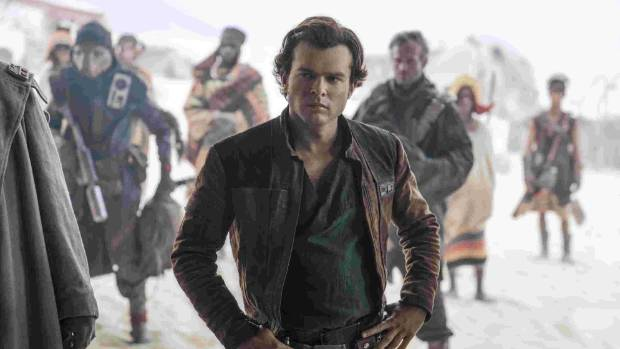 It's a slow start for 'Solo' at the Box office