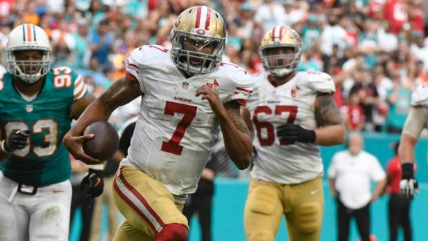 Colin Kaepernick has been unable to find another job in the NFL after his contract expired with the San Francisco 49ers