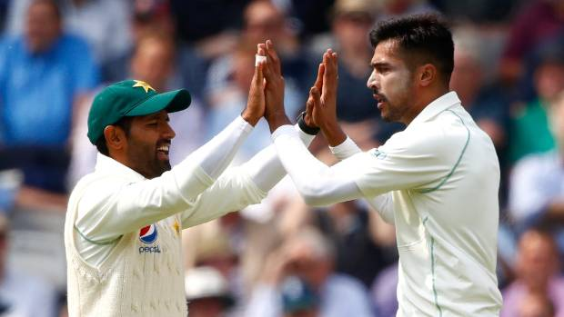 Pakistan in control at Lords as England fold