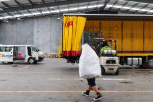 NZ Post's sorting centre at New Plymouth opened a year ago.
