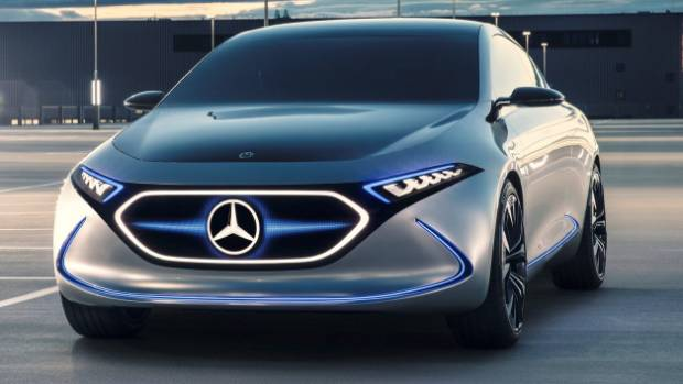 Mercedes Benz Plans To Launch 10 Electric Vehicles By 2022. This Is The EQA