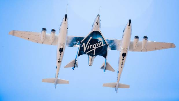 Space tourism one step closer as Virgin Galactic completes second test flight