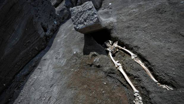 Skeleton of a Headless, Unlucky Pompeii Resident Has Been Unearthed in Italy