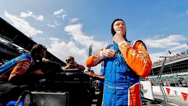 Scott Dixon carries a handy lead into the penultimate round of the IndyCar series in Portland.