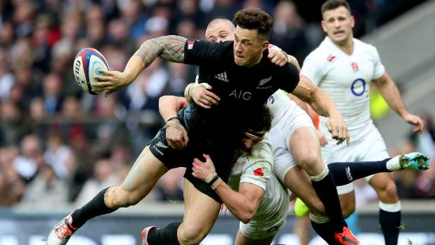 Sonny Bill Williams setback for All Blacks