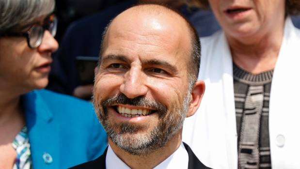Uber CEO doubles down on self-driving tests