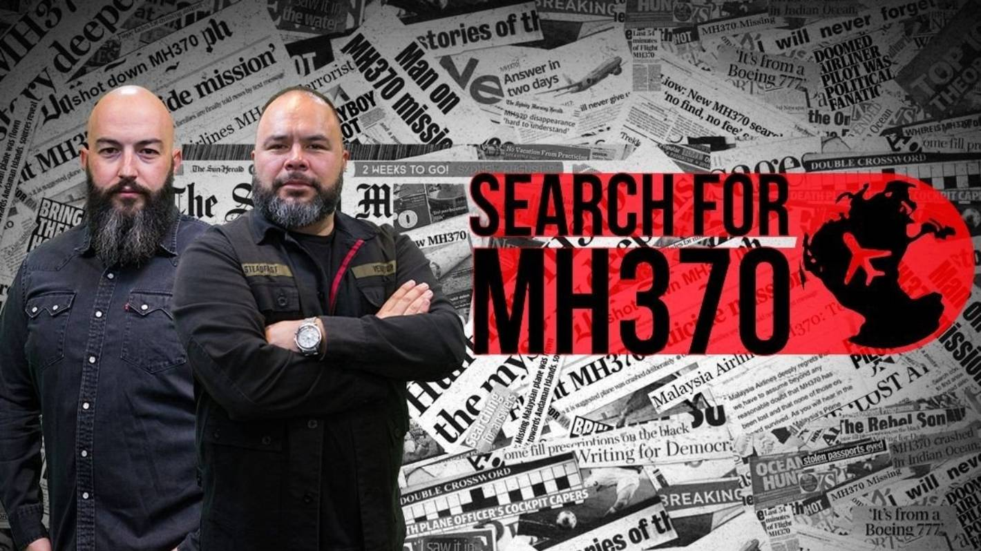 The Rock's Thane Kirby and Duncan Heyde prepare to head to Mauritius to look for MH370