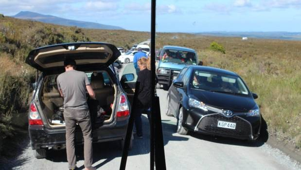 Chaos on the Tongariro Crossing access roads during the 2016/17 summer prompted DOC to impose a four-hour parking ...