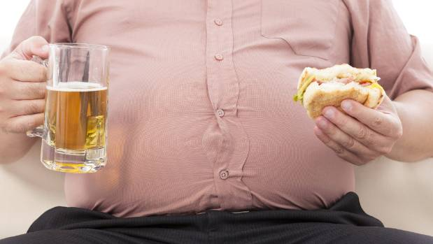 Nearly half of all New Zealanders will be obese within 20 years if current trends continue.