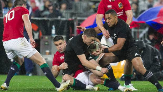 Steve hansen reveals all blacks have a new tactical blueprint beauden barrett couldnt cope with the british and irish lions line speed last malvernweather Images