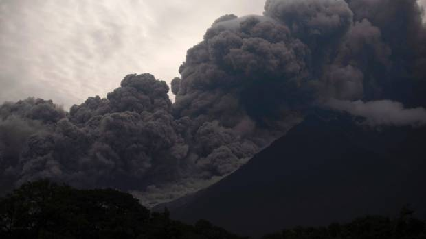 Guatemala's Deadly Volcano as Seen via Satellite