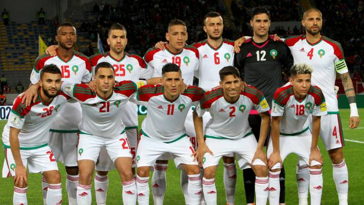 The Moroccans are appearing at their first World Cup since France  98 e01ebfa390