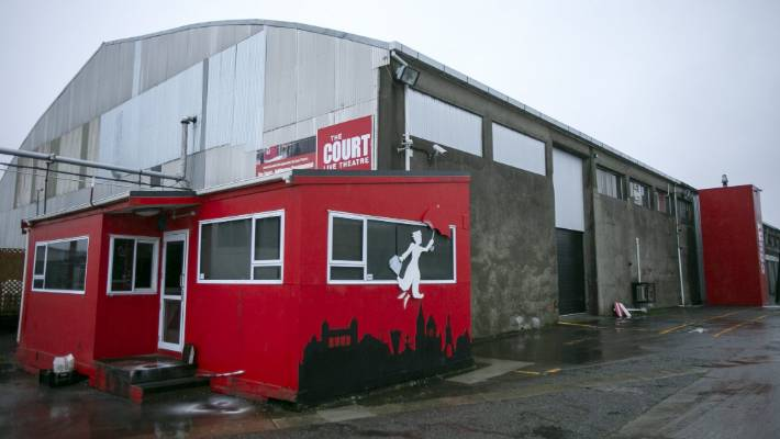 Workshop at Christchurch\'s Court Theatre contaminated with asbestos ...