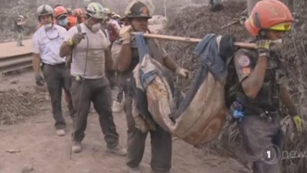 Identification of Those who Died in Guatemala Volcano's Aftermath Difficult
