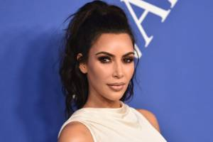 Glam looks for celebs like Kim Kardashian are often extreme as they need to show up on camera.