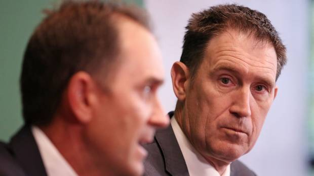 Cricket Australia chief executive James Sutherland announces resignation