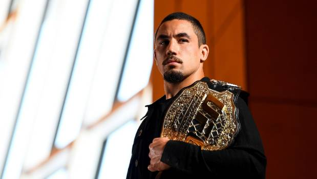 Rob Whittaker's UFC middleweight title fight abandoned over 90 grams