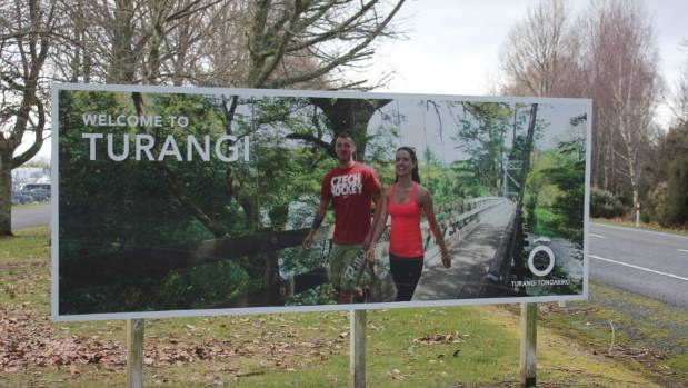People could be welcomed to Turangi with dual service stations on opposite sides of the road.