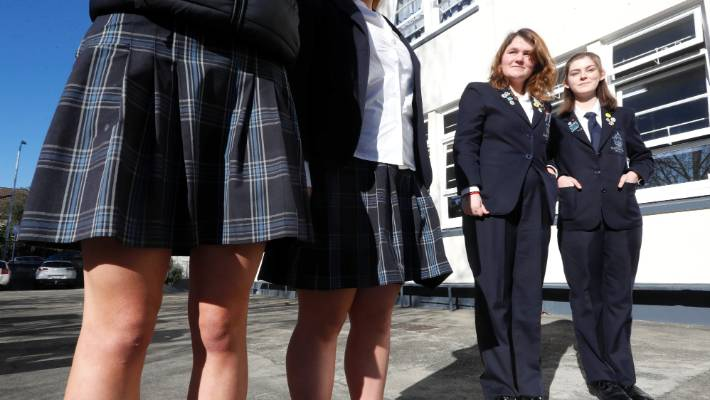 3024ff4609 Girls were forced to wear skirts at a US school to 'preserve chivalry', so  they sued - and won.
