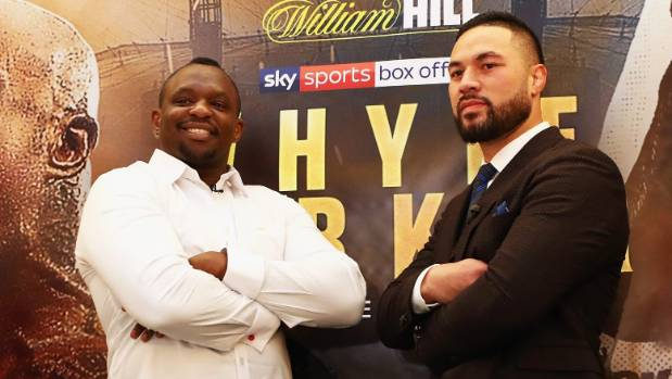 Whyte late option for Parker?