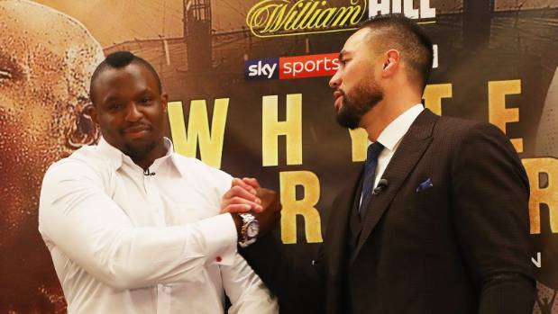 Anthony Joshua Announces Next Two Fights At Wembley