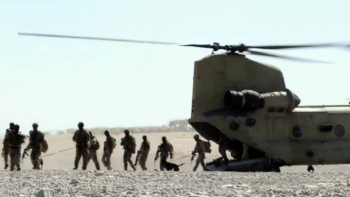 Australian Special Forces Troops Arrive Back At Base After A Mission In Oruzgan Province In Afghanistan