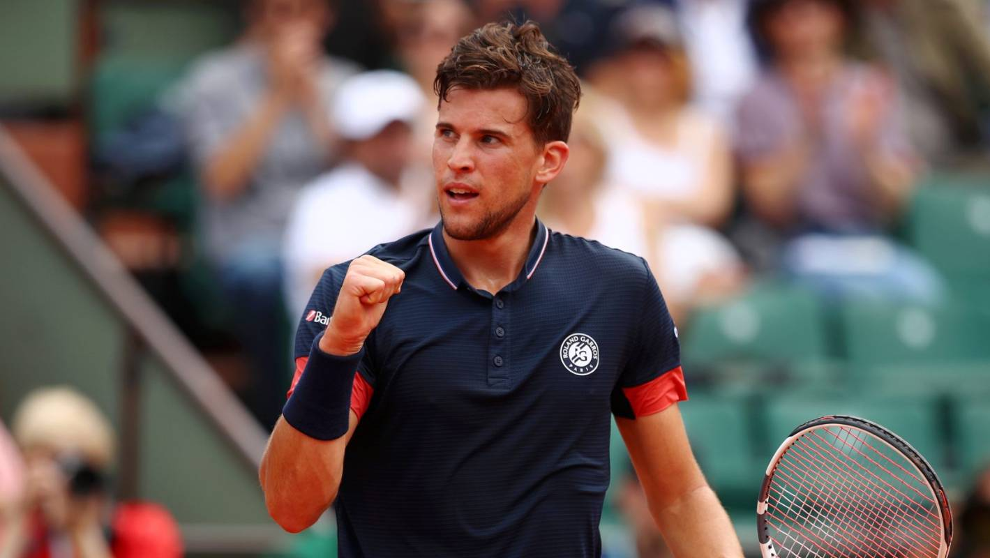 Dominic Thiem beats Cecchinato at French Open, into first ...