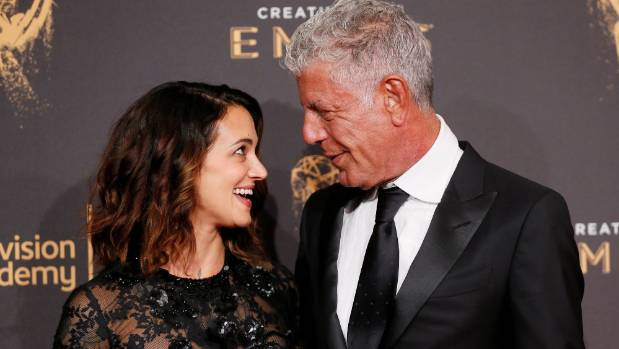 Anthony Bourdain's daughter, 11, in concert after his death
