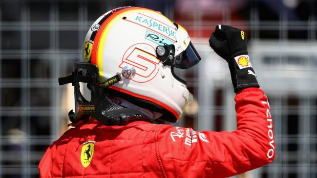 Vettel wins in Canada to overtake Hamilton in standings