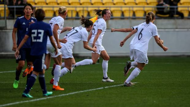 Dour Football Ferns beaten by Japan in front of record crowd  ed997f8943