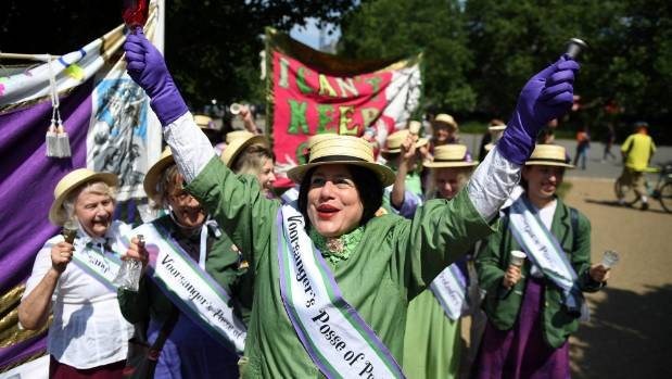 Suffragette 100th anniversary: Where will women march today?