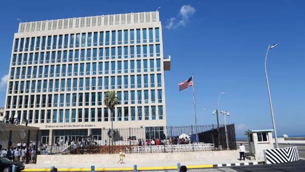 Cuba says 'undefined sounds' at home left U.S.  embassy official feeling ill