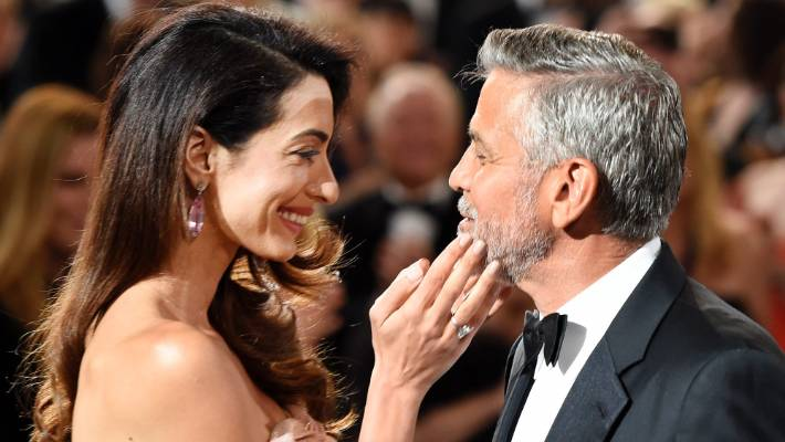 Celebrity Fashion: George Clooney is well aware that he 'married up' with Amal.