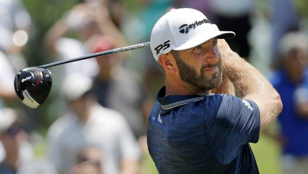 Dustin Johnson made eagle at the last to clinch the St. Jude Classic golf tournament