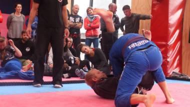 Queenstown jiu jitsu tournament - a practice before