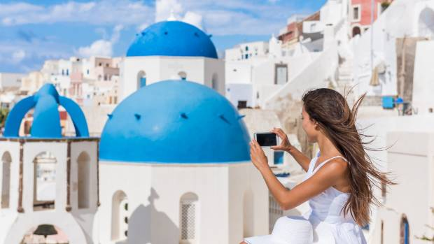 Santorini is every Instagrammer's dream.