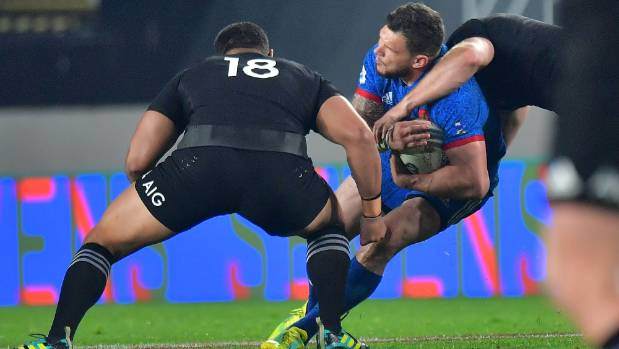 Crucial Red Card Costs France After Beauden Barrett Is Taken Out