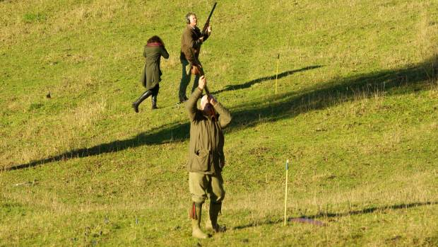 Most visitors to Craigmore for the game shooting season have previous experience in England.